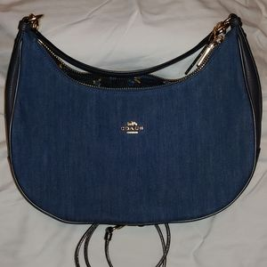 COPY - Coach East/West Harley Denim Hobo